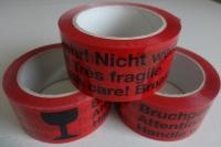 Pack-Klebeband Fragile(rot)