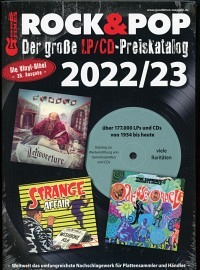 "12"" LP & CD Rock & Pop Preiskatalog 2020/21"