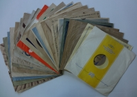 Original Schellack Markenhüllen 30cm gemischt