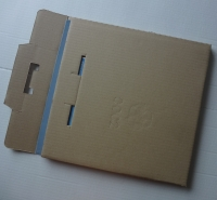 """12"""" LP Versandkarton Nr.1, für 1-3 LPs (50 Stk.)"""