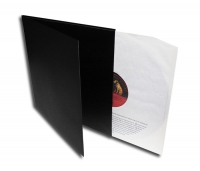 LP Doppelcover Deluxe ungelocht, schwarz