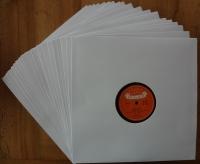 "10"" Schellack Cover, weiss (50 Stk.)"
