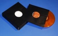 "12"" LP Innenhüllen gefüttert, schwarz (100 Stk.)"
