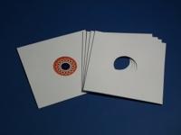 """12"""" LP Cover gelocht, weiss (auch für Schellack 30 cm) (25 Stk.)"""