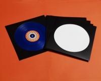 "12"" LP Picture-Disc Cover, schwarz (25 Stk.)"