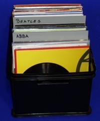 "12"" LP Registerwand, grau (25 Stk.)"