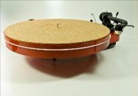 Turntable Mat, aus Kork