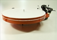 Turntable Mat, Acryl weiss