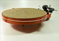 Turntable Mat, Kork-Gummi Mix
