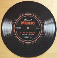 Record Music Teppich 100 cm