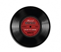 Mousepad - Record Music (Mausmatte)