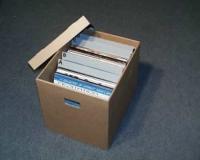 "12"" LP Pappbox"