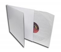 LP Doppelcover Deluxe ungelocht, weiss