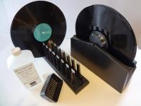 Schallplatten Reinigungsgerät