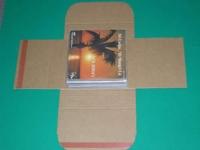 "7"" Single Versandkarton Four Lax, für 1-25 Singles (10 Stk.)"