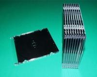 1er CD-Leerbox Slimline, schwarz (25 Stk.)