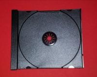 1er CD-Tray für CD-Leerbox Deluxe, schwarz (25 Stk.)