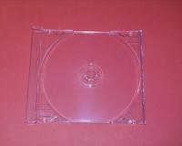 1er CD-Tray für CD-Leerbox Deluxe, transparent (25 Stk.)