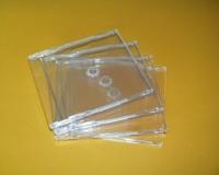 1er CD-Leerbox Slimline, transparent (25 Stk.)