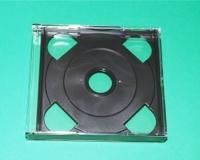 2er CD-Leerbox (dick) mit Tray, schwarz