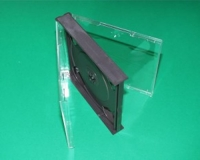 3er CD-Leerbox, schwarz (10 Stk.)