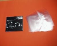 CD-Schutzfolie für 1er CD-Leerbox mit Klebeverschluss (100 Stk.)
