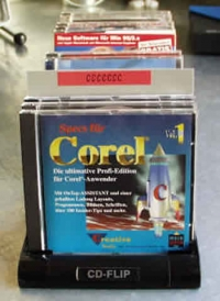 CD-Registerwand, grau (25 Stk.)