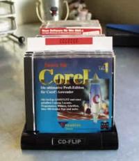 CD-Registerwand, weiss (25 Stk.)