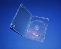 1er DVD-Leerbuchhülle, transparent