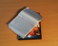 DVD-Schutzfolie mit Klebeverschluss (100 Stk.)