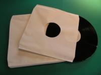 """12"""" LP Innenhüllen ungefüttert Deluxe, weiss, (100 Stk.)"""